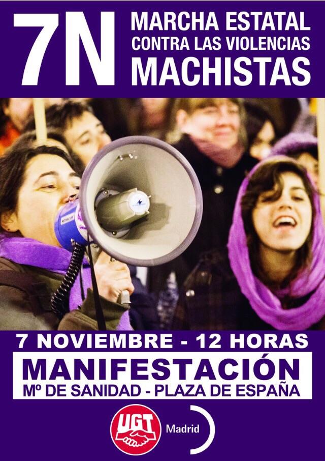 Marcha estatal contra las violencias machistas