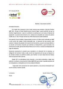 Petición de Báscula Villaviciosa de Odón