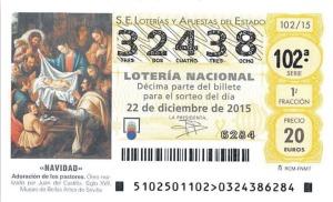 Pulsa para comprar décimo de Lotería