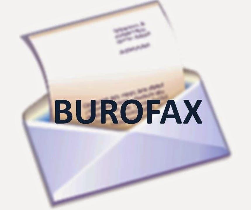 Burofax, su valor como prueba.