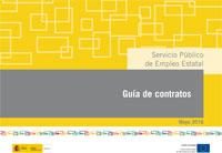 Guía de contratos actualizada del SEPE.