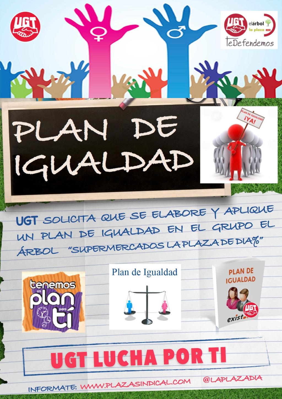 UGT solicita que se elabore y aplique un Plan de Igualdad de Supermercados la Plaza de DIA%