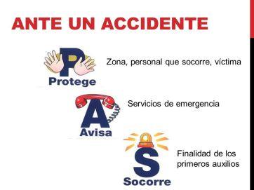 Primeros pasos ante un accidente de trabajo
