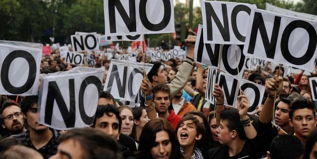 2.784 manifestaciones y concentraciones en año 2016, en la Comunidad de Madrid