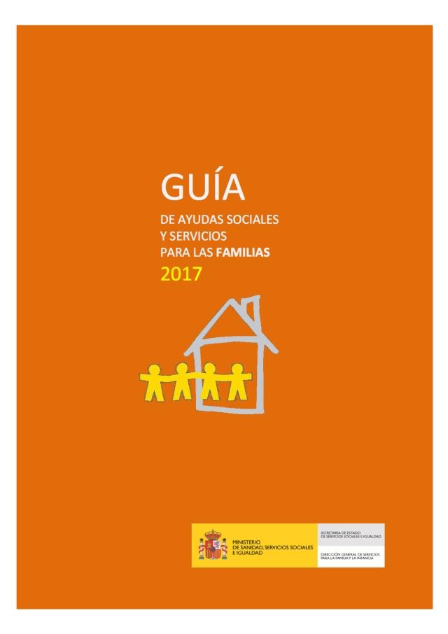 Guía de Ayudas Sociales y Servicios para las Familias del año 2017