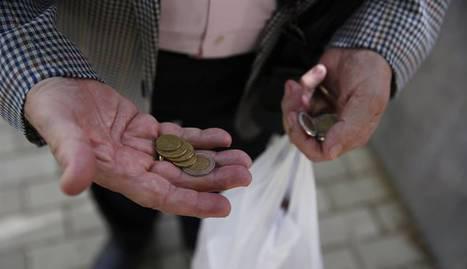 La Comunidad de Madrid ha sufrido una subida de 3.1% en la Tasa de riesgo de pobreza.
