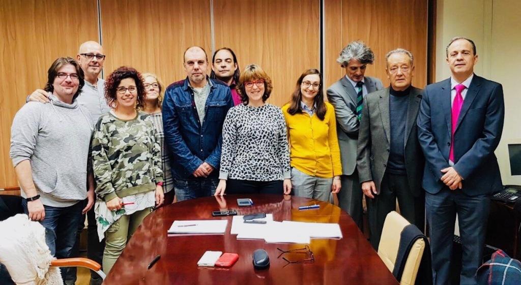 UGT firma una subida global de 13% para el Convenio de Comercio Alimentación de la Comunidad de Madrid.