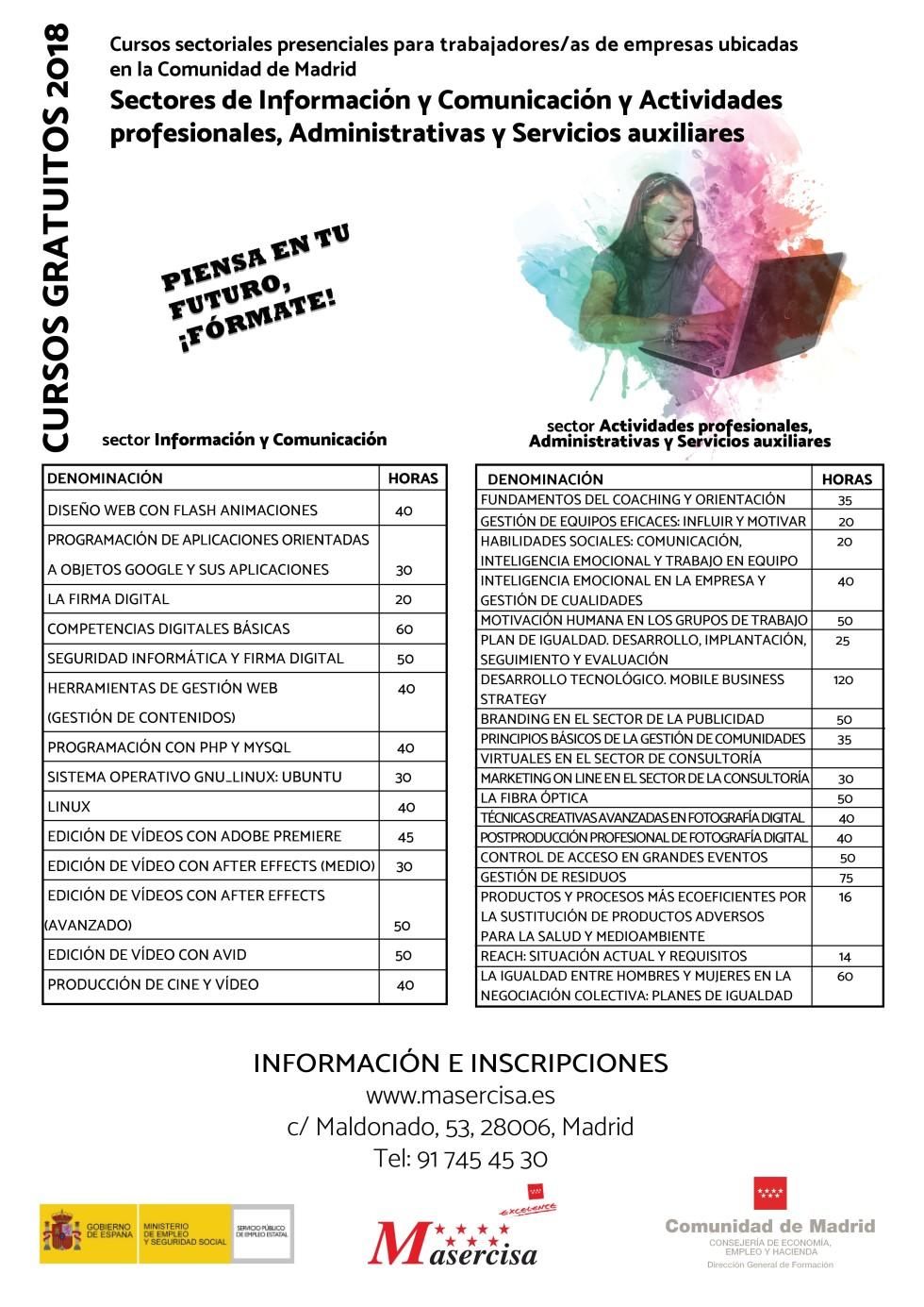 Cartel Planes Madrid. MASERCISA. Inform. Comu. y Act. prof. Admin. y S.auxiliares.jpg