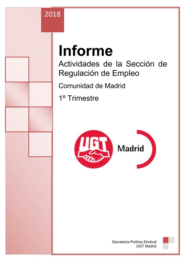 Aumentan los trabajadores/as afectados en ERTES de Suspensión en la Comunidad de Madrid.