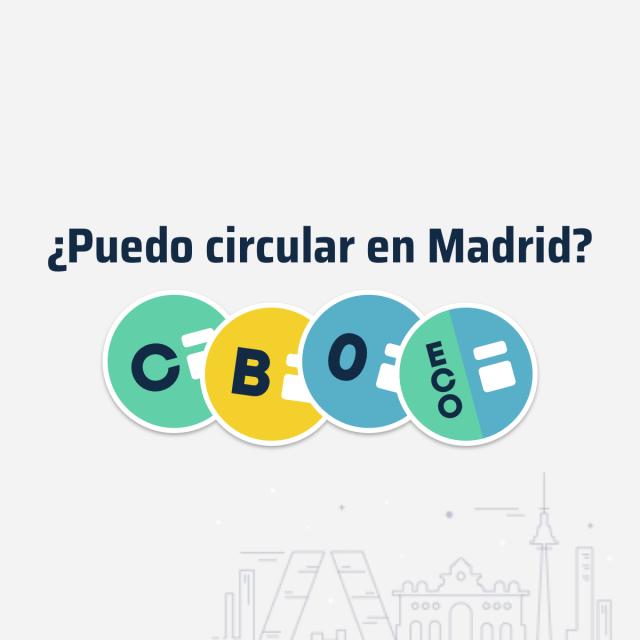 ¿Cómo saber si puedes circular hoy en Madrid?