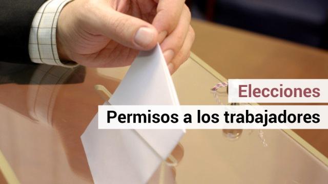 PERMISOS RETRIBUIDOS EN LAS PROXIMAS VOTACIONES DEL DIA 28 DE ABRIL