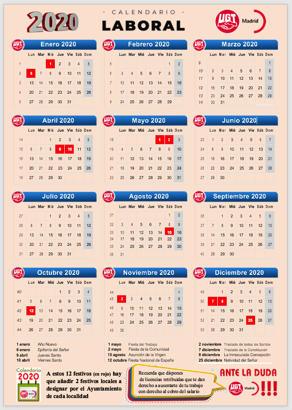 Calendario Laboral de 2020 CAM.png