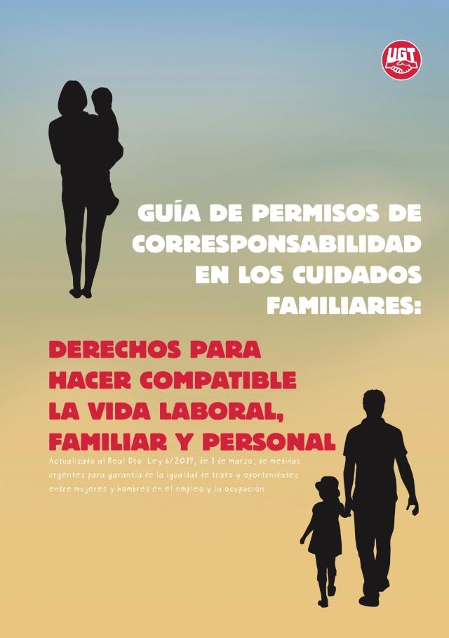 Guíade permisos de corresponsabilidad en cuidados familiares UGT