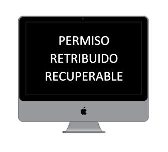 permiso retribuido recuperable