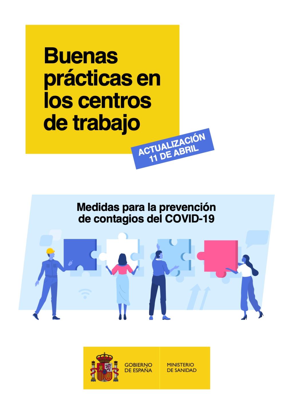 Buenas prácticas en los centros de trabajo COVID-19.