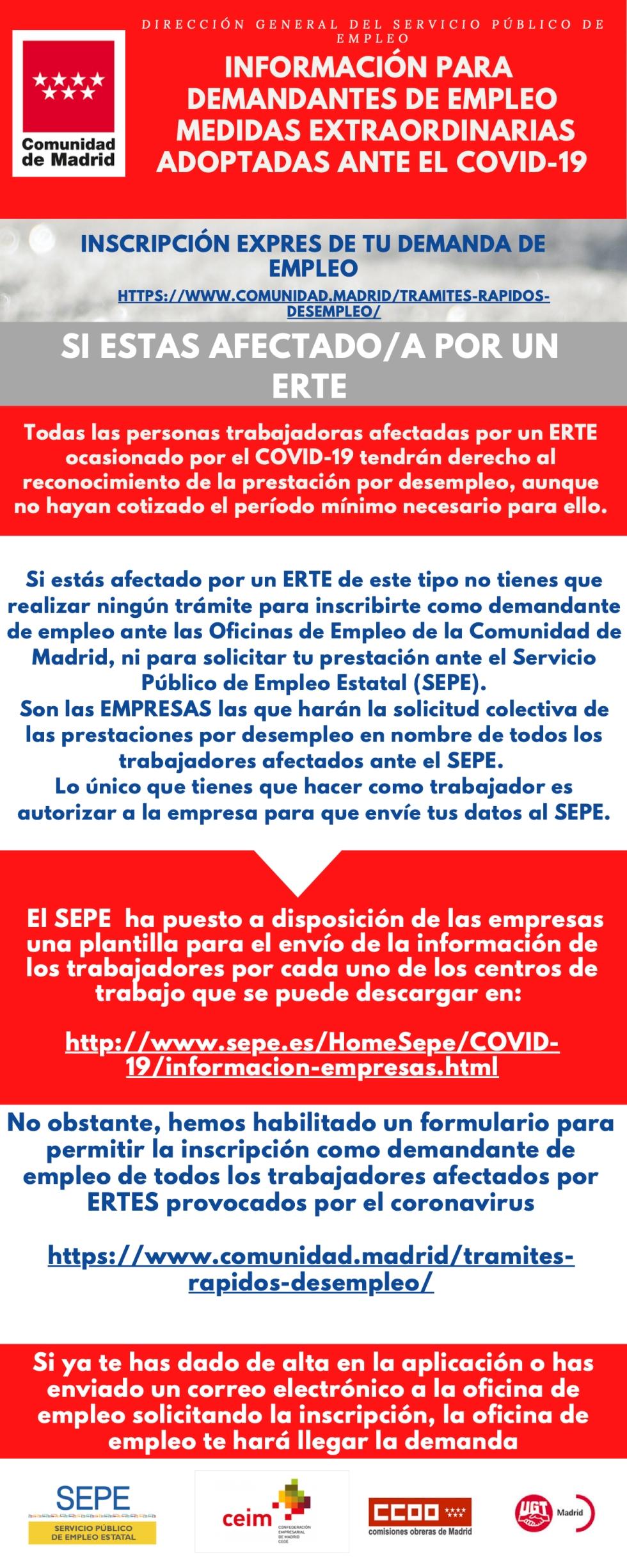 INFORMACIÓN PARA DEMANDANTES DE EMPLEO ANTE EL COVID-19 (2)