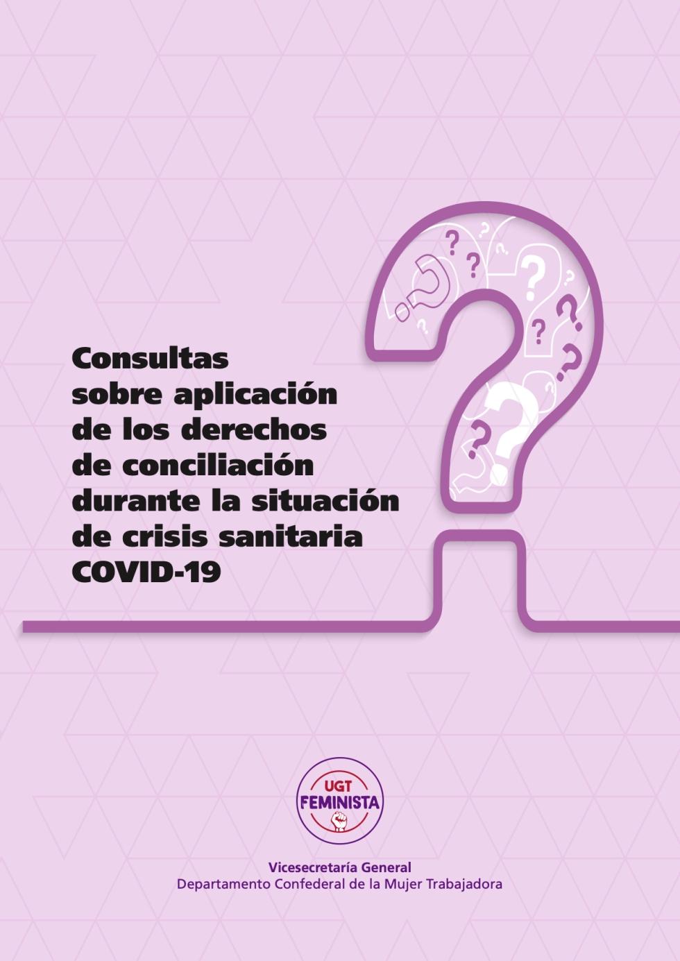 guía de consultas sobre aplicación de los derechos de conciliación durante la situación de crisis sanitaria COVID-19