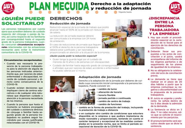 El Plan MECUIDA que permanecerá vigente hasta el 31 de enero de 2021.