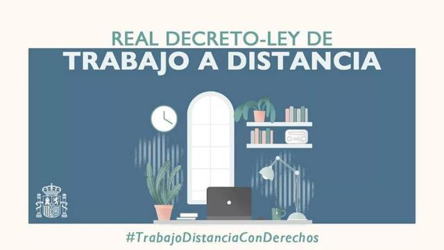 LEY DE TRABAJO A DISTANCIA