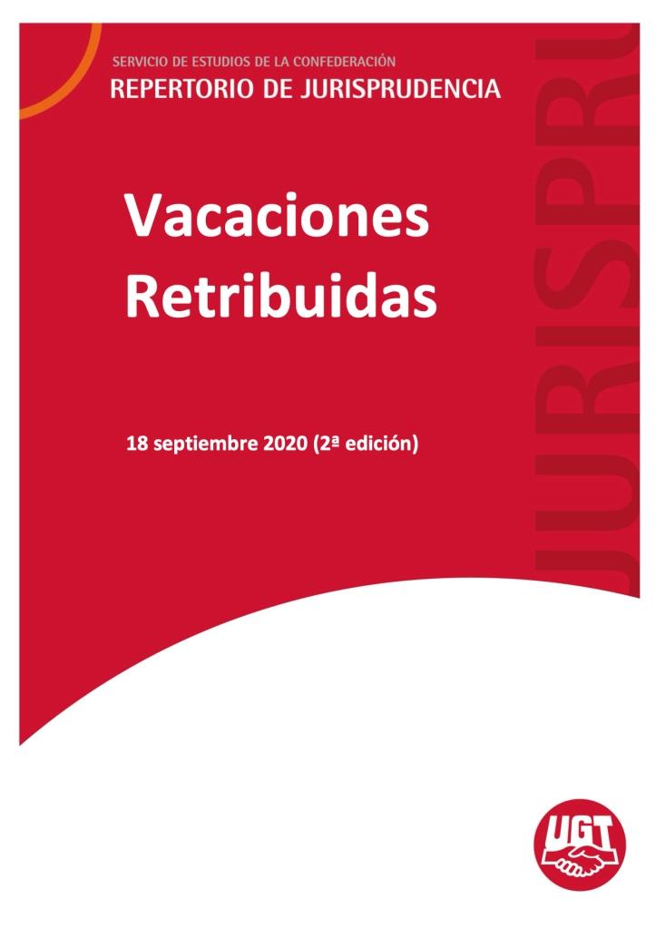 Vacaciones Retribuidas