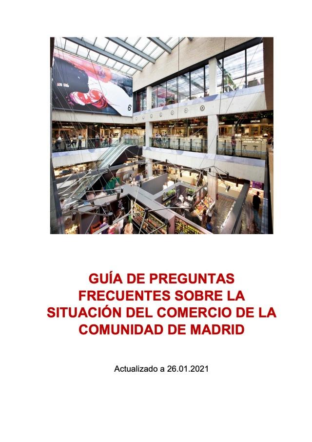SITUACIÓN DEL COMERCIO DE LA COMUNIDAD DE MADRID