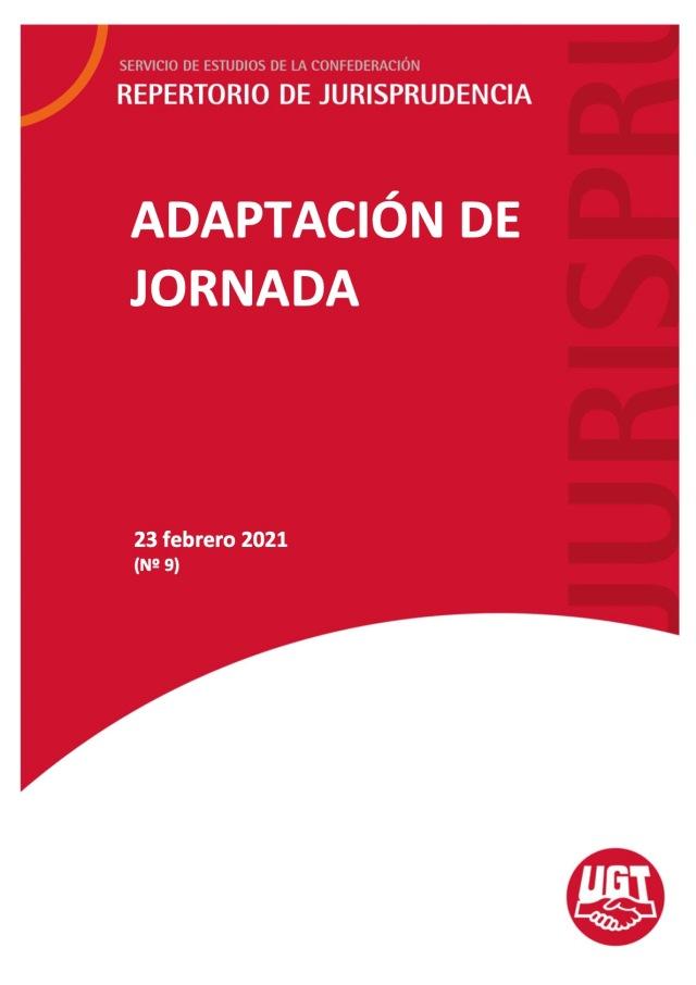 ADAPTACIÓN DE JORNADA