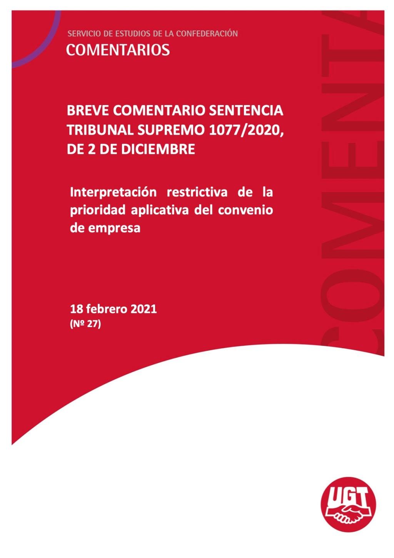 Aplicación restrictiva del principio de prioridad aplicativa del convenio colectivo de empresa