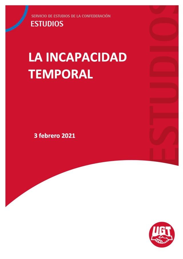 LA INCAPACIDAD TEMPORAL