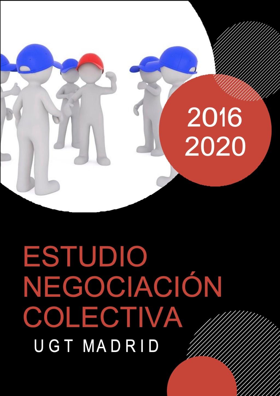 Negociación Colectiva 2016-2020 Comunidad de Madrid