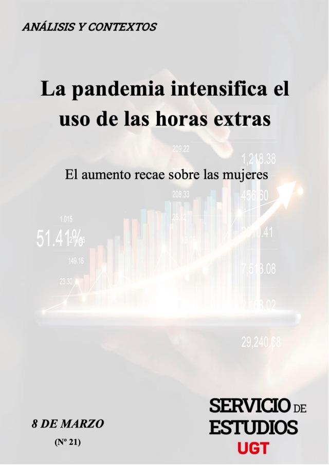 La pandemia intensifica el uso de las horas extras