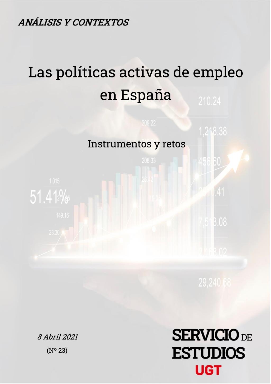 Informe sobre las Políticas Activas de Empleo y su articulación