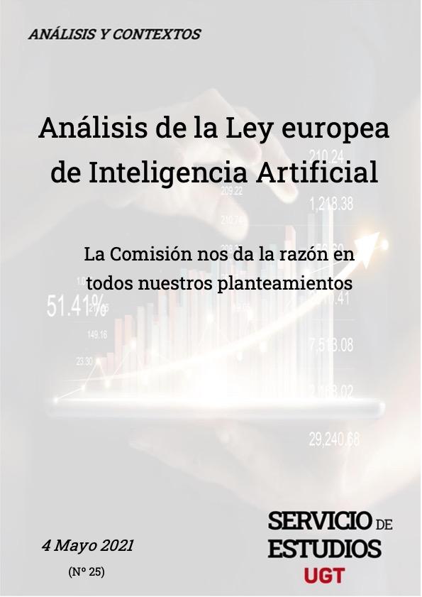 ANÁLISIS DE LA LEY EUROPEA DE INTELIGENCIA ARTIFICIAL