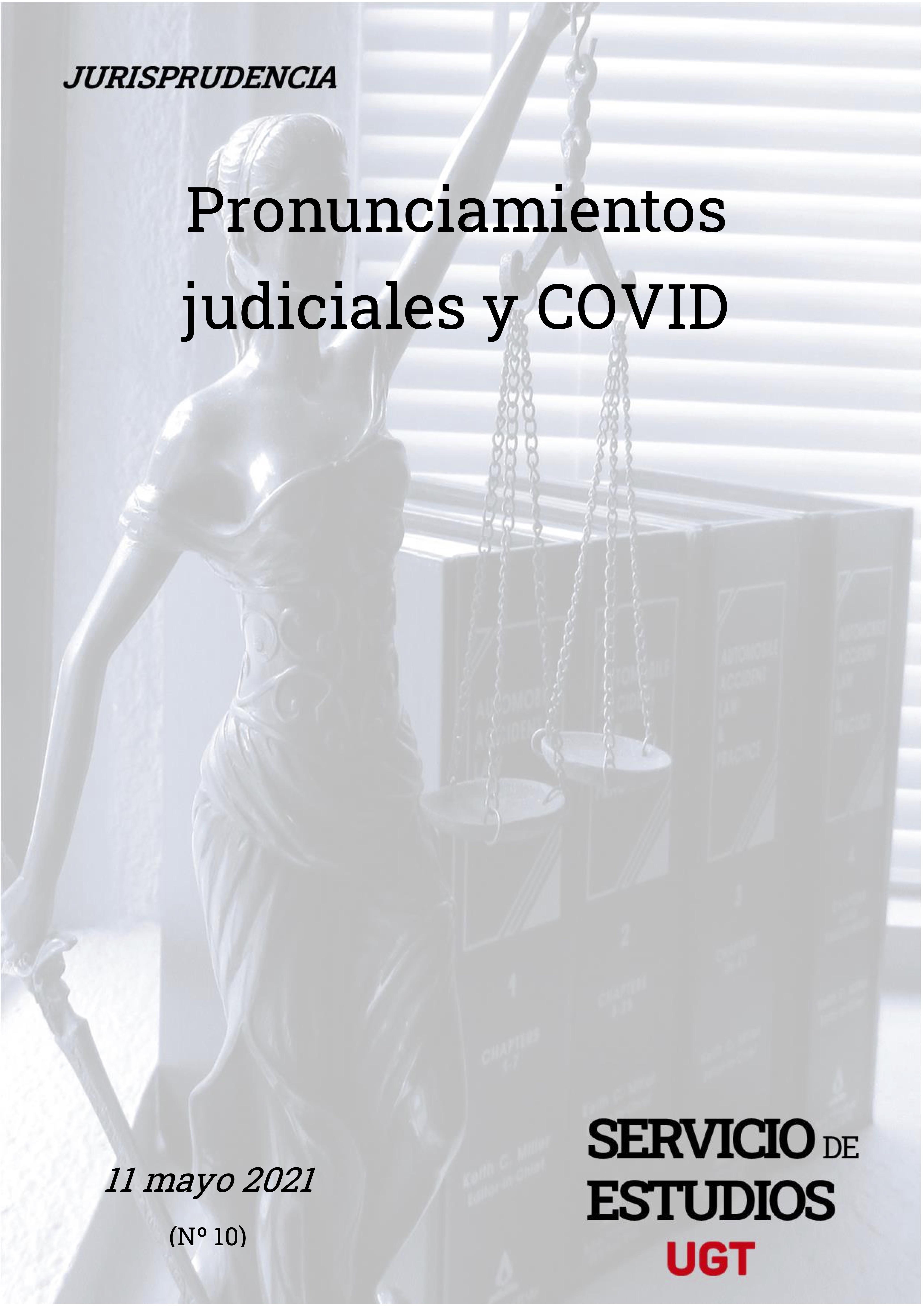 Pronunciamientos judiciales y COVID