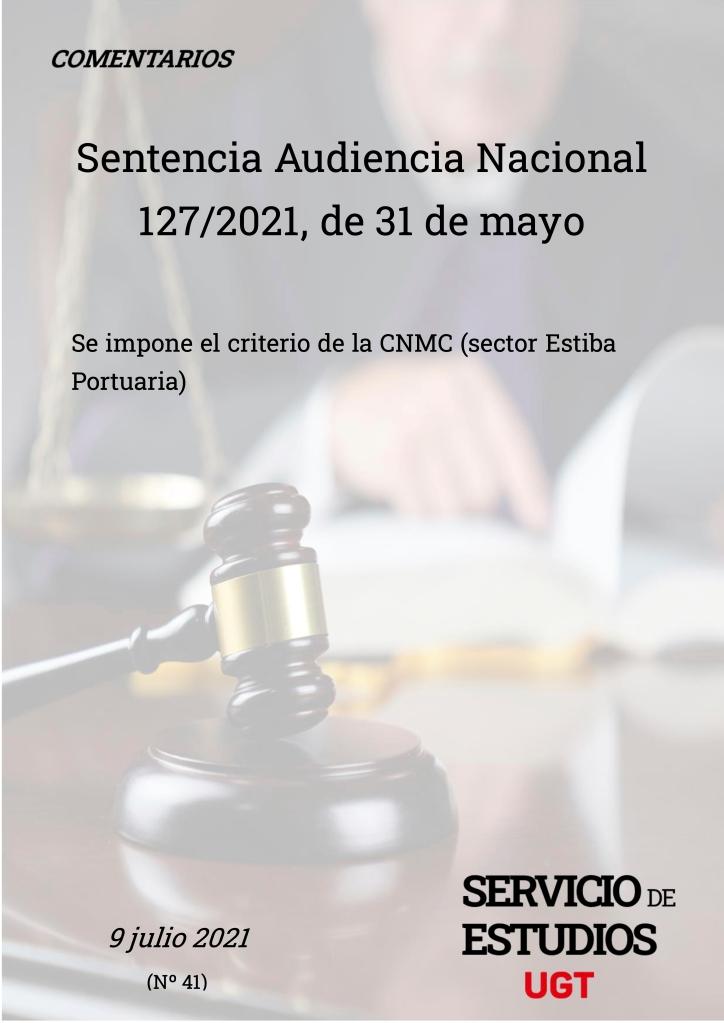 SE IMPONE EL CRITERIO DE LA CNMC (SECTOR ESTIBA PORTUARIA)