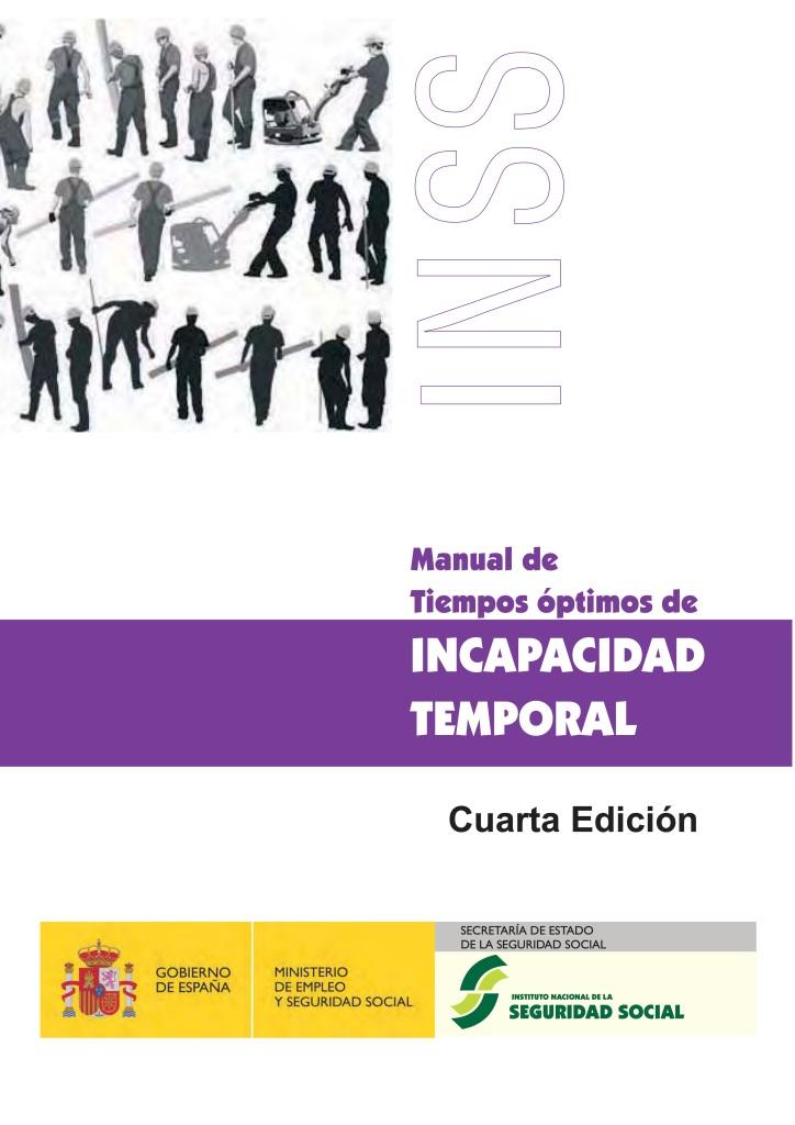 Manual de Tiempos óptimos de INCAPACIDAD TEMPORAL