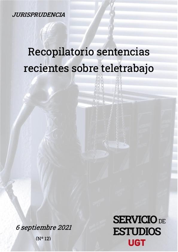 📌 📖RECOPILATORIO SENTENCIAS ⚖️ RECIENTES SOBRE TELETRABAJO